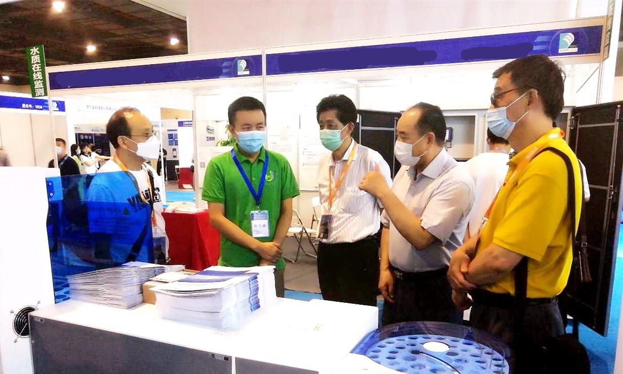 安杰科技参加第十二届中国水文展